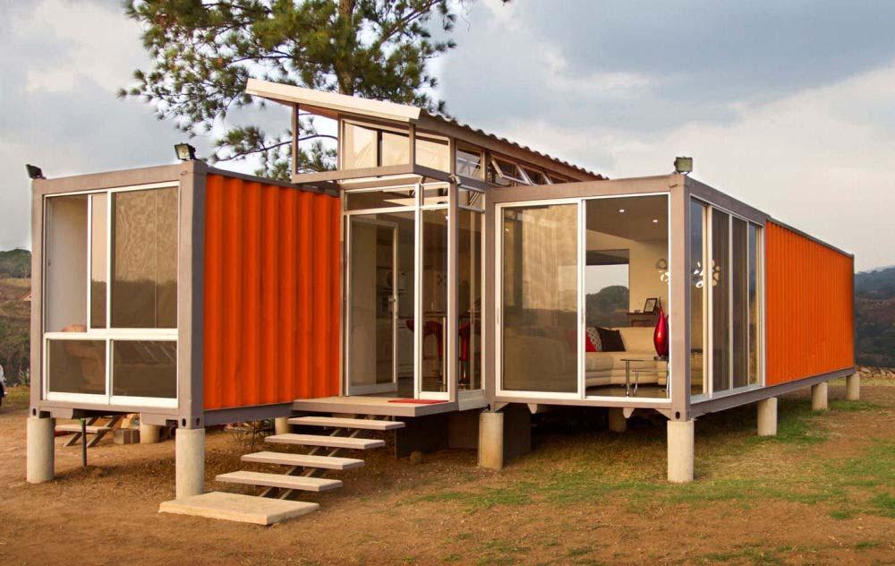 Maison En Container Photo De Maison Container
