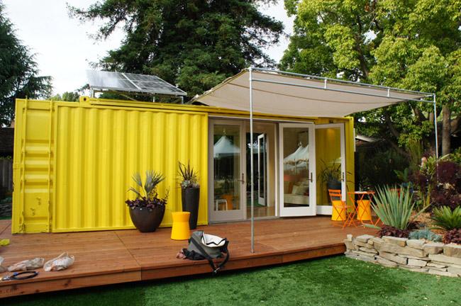 Maison en container photo de maison container - Combien coute un container ...